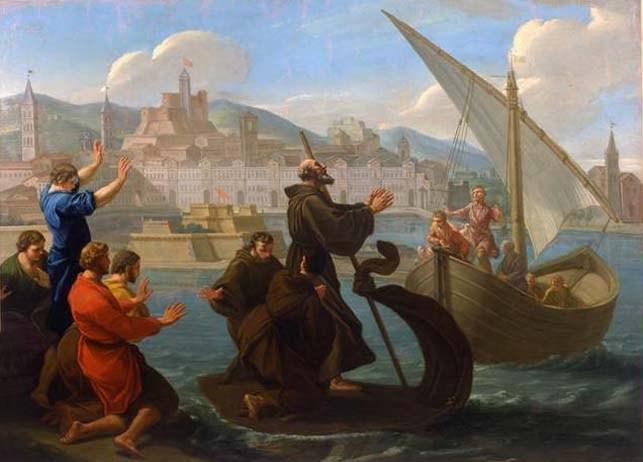 San Francesco di Paola - Miracolo sullo Stretto