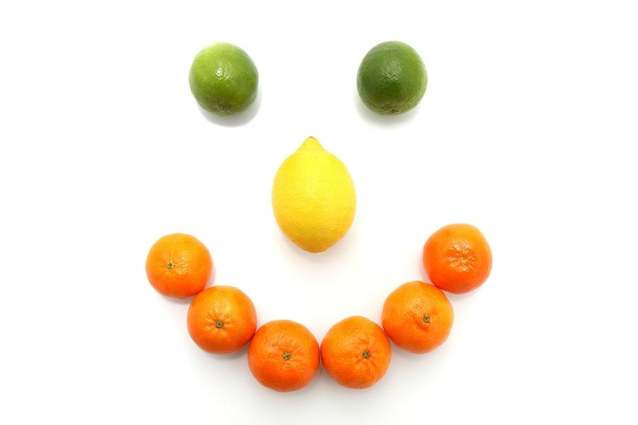 Smile di agrumi di Sicilia