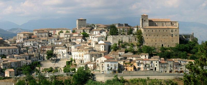 Veduta di Altomonte (Cosenza) - Image source