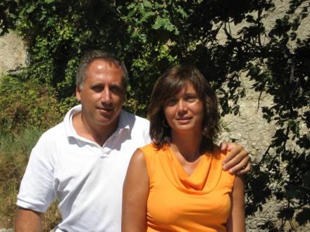 arnaldo caruso con la moglie