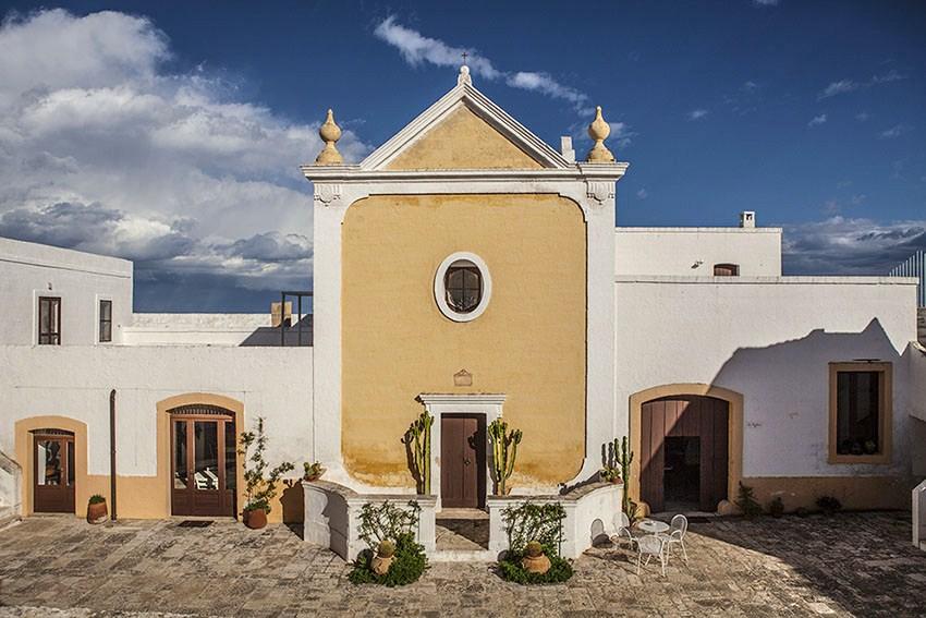 Puglia - Uno scorcio di Borgo San Marco, Fasano (Brindisi)