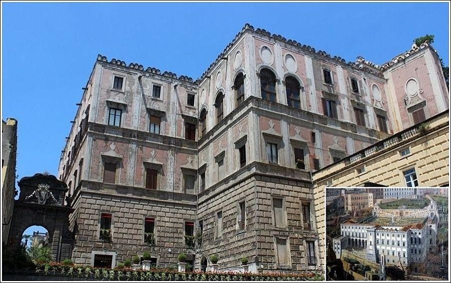 Campania - Palazzo Cellamare, XVI-XVIII sec., Napoli
