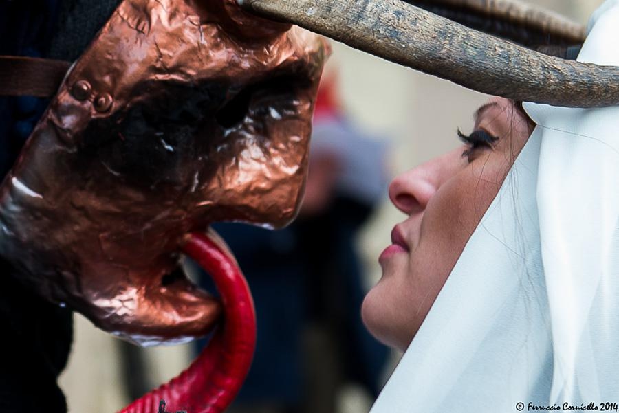 Basilicata - Carnevale delle maschere cornute ad Aliano (Matera) – Ph. © Ferruccio Cornicello