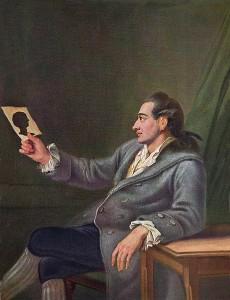 Georg Melchior Kraus - Johann Wolgang Goethe, 1775-76 - Goethe Museum, Francoforte