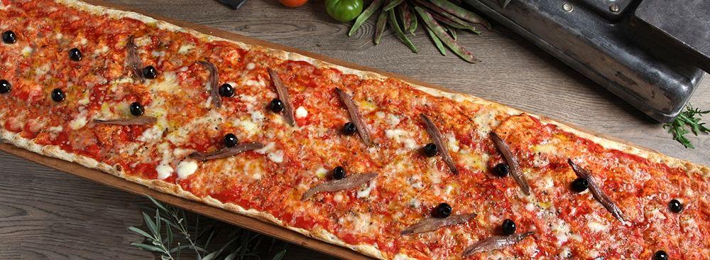 Metri di pizza...
