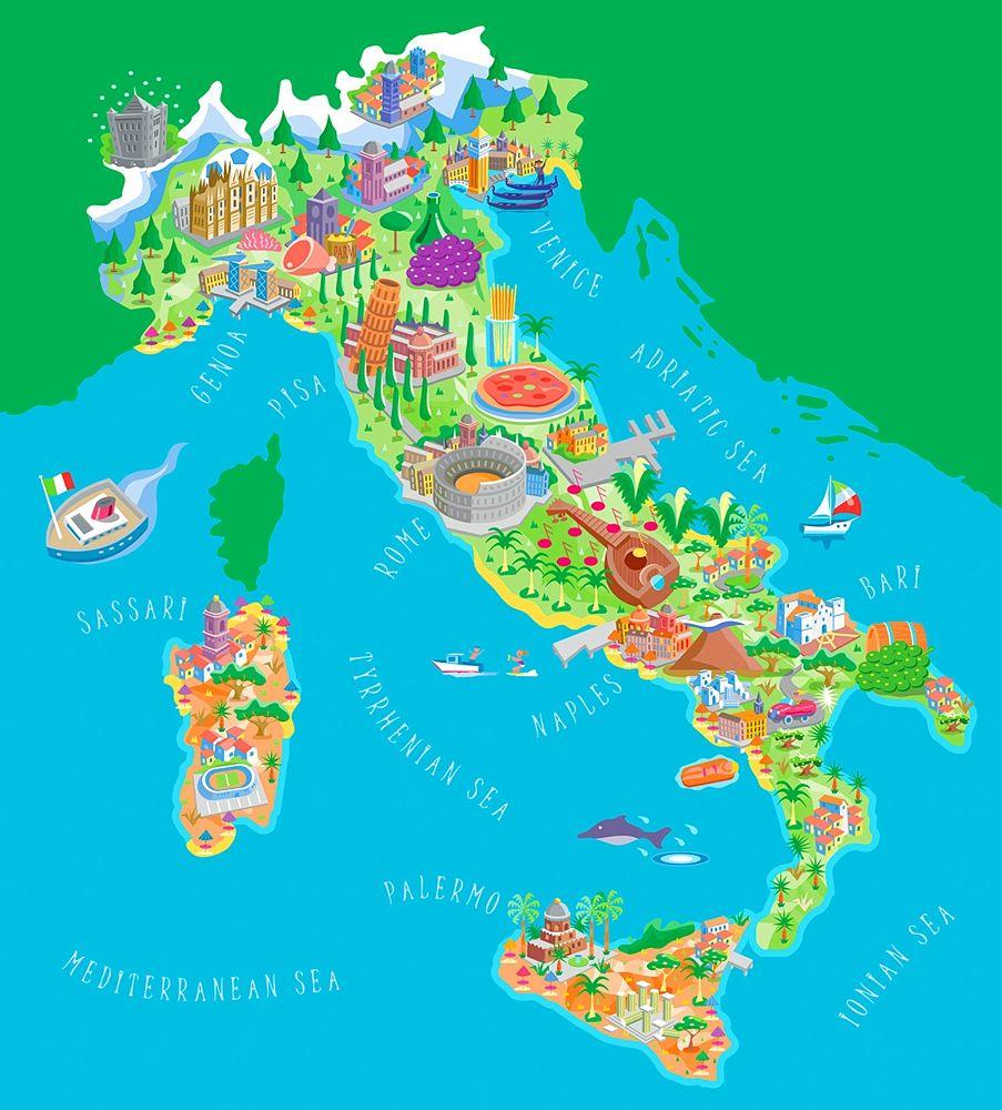 L'Italia dei beni culturali ed enogastronomici