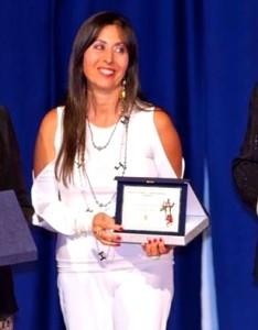 La scrittrice Maria Concetta Preta
