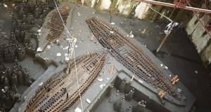 A Piazza Municipio l'antico porto di Napoli: spunta una quinta nave romana