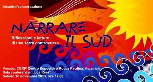 Narrare il Sud. A Perugia, riflessioni e letture di una terra controversa