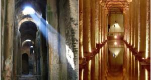 Mentre a Bacoli la spettacolare Piscina Mirabilis si sgretola, la turca Yerebatan è visitata da milioni di turisti