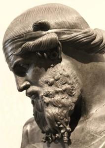 Busto in bronzo di Platone del I° sec. a.C., Napoli, Museo Archeologico Nazionale