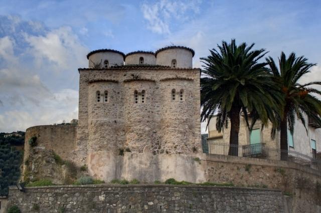 Scorcio della chiesa di San Marco, IX-X sec., Rossano (Cosenza)