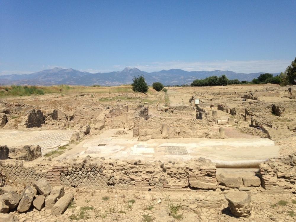 Calabria – Scorcio dell'area archeologica di Sibari (Cassano allo Jonio, Cosenza)