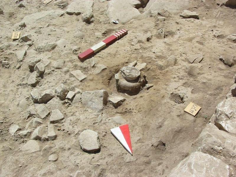 Scorcio del sito neolitico di Palese, Bari