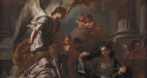 CAMPANIA   L'Annunciazione, un capolavoro del campano Francesco Solimena in Danimarca