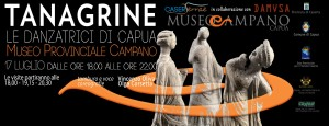Al Museo di Capua serata alla scoperta delle Tanagrine, le antiche danzatrici in terracotta
