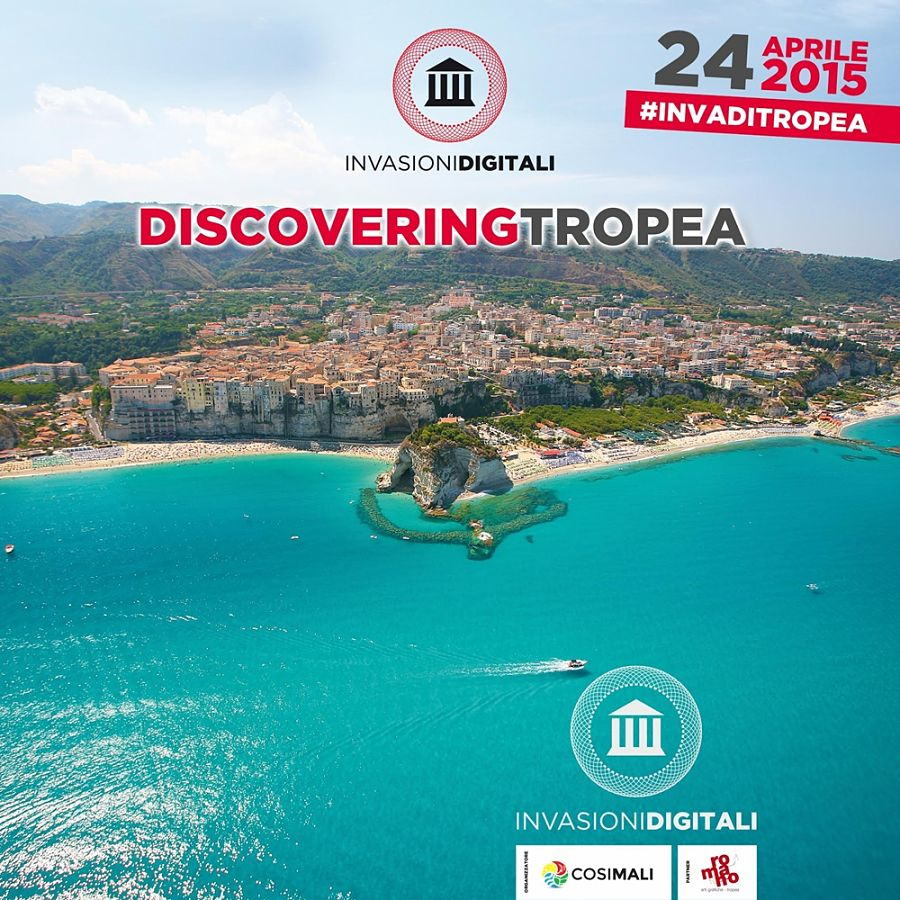 Discovering Tropea, primo evento di Invasioni Digitali 2015