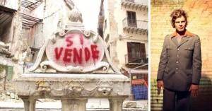 L'artista austriaco Uwe Jaentsch imbratta a Palermo una fontana del '500. Provocazione o gesto vandalico? L'opinione del pittore Momò Calascibetta