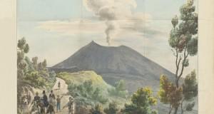 Le straordinarie immagini dell'eruzione del Vesuvio realizzate nel 1831 dal geologo e viaggiatore inglese John Auldjo
