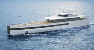 Attracca a Brindisi il mega yacht Venus appartenuto a Steve Jobs. La famiglia del guru della Apple approda in Puglia per turismo